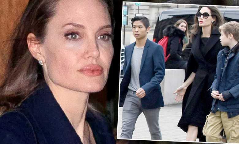 Angelina Jolie dzieci Maddox