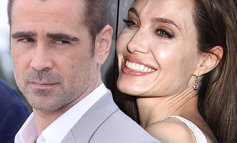 Colin Farrell i Angelina Jolie są parą