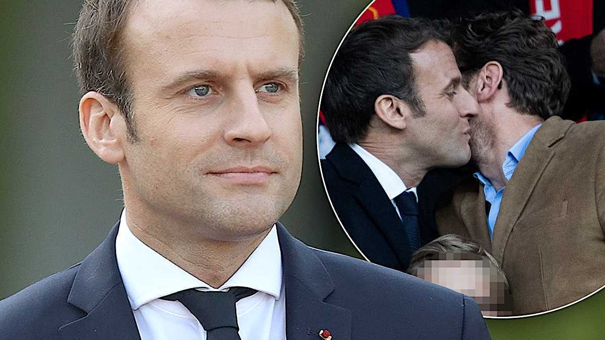 Emmanuel Macron brat