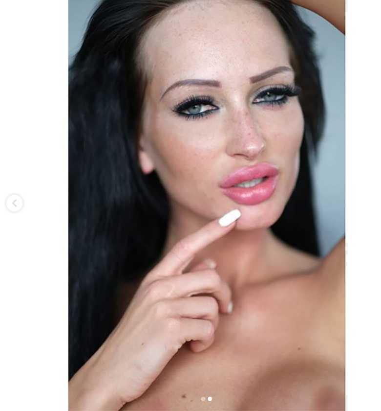 Małgosia Godlewska - bez makijażu