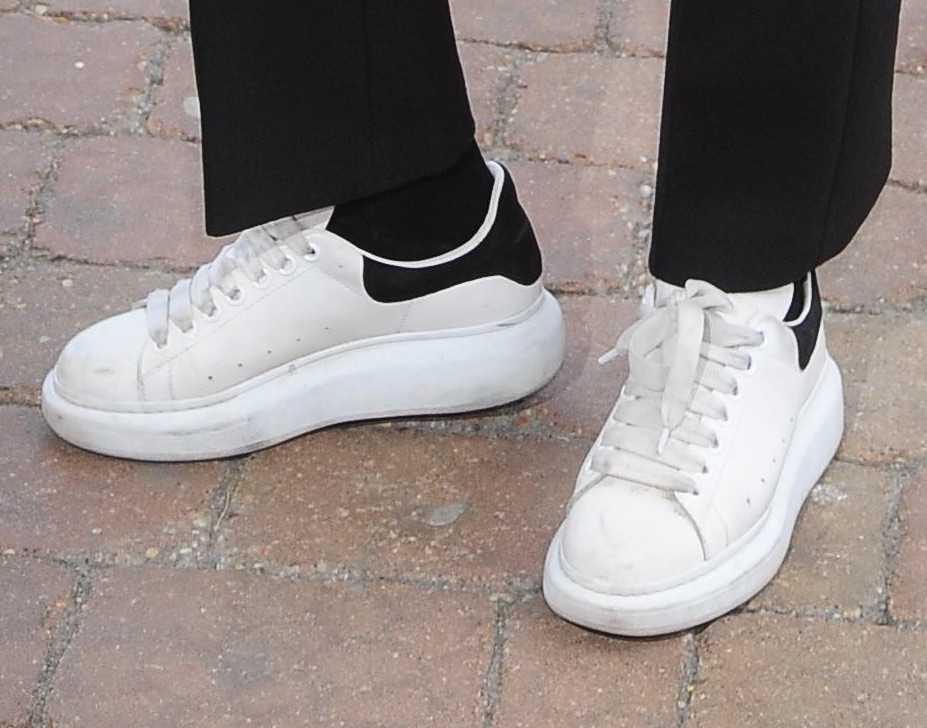 Karolina Szostak w sportowych butach