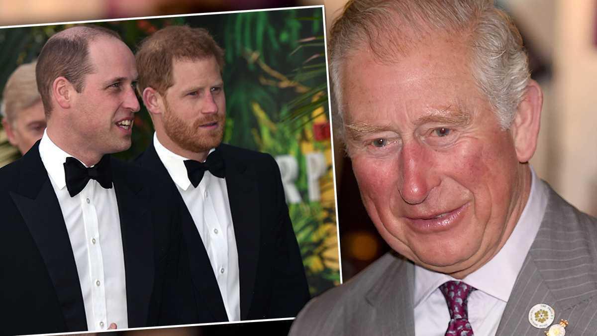 Książę Karol: książę Harry i książę William