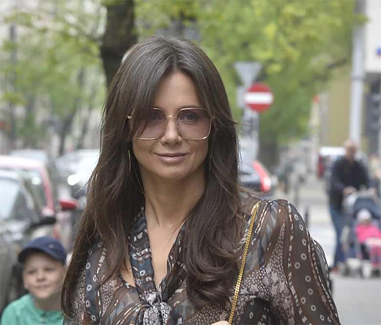 Kinga Rusin założyła modne okulary