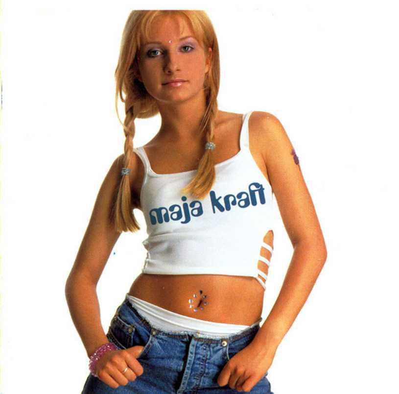 Maja Kraft w 2000 roku