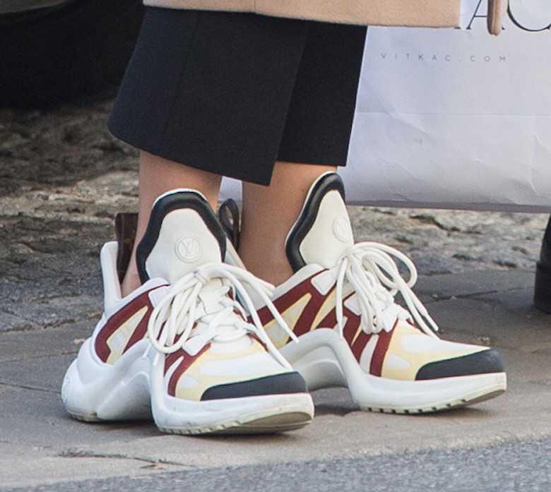 Małgorzata Kożuchowska nosi buty Louis Vuitton