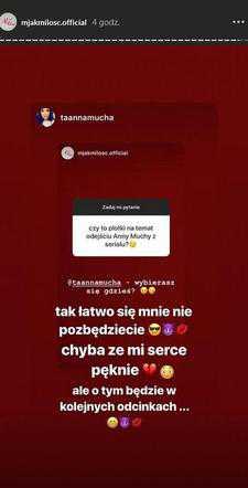 Czy Anna Mucha odejdzie z M jak Miłość?