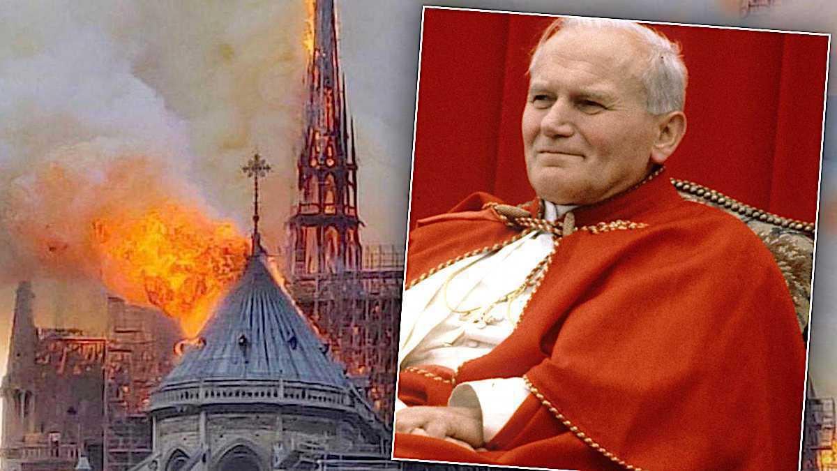 Notre Dame, relikwie Jana Pawła II