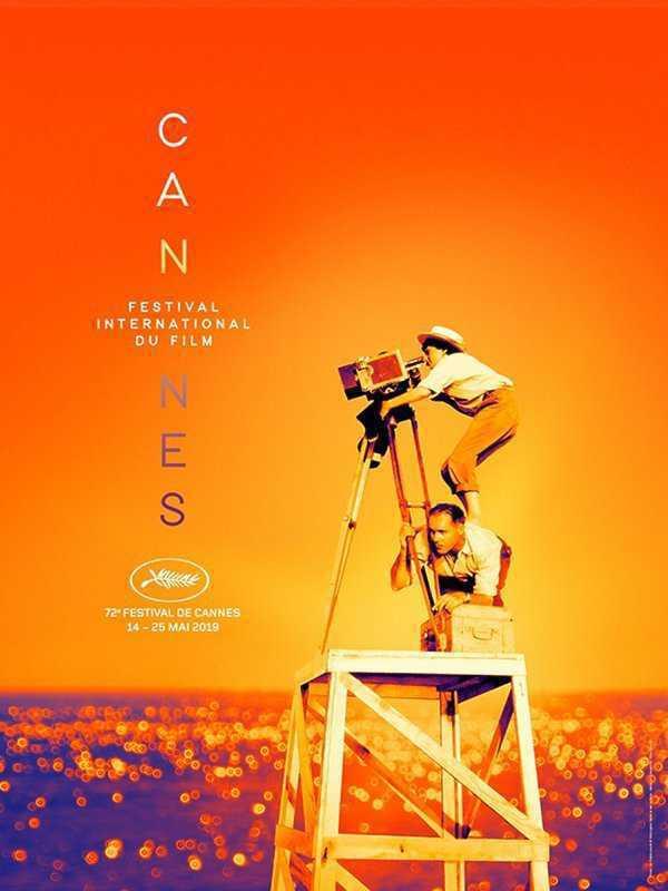 Plakat 72 edycji Międzynarodowego Festiwalu Filmowego w Cannes