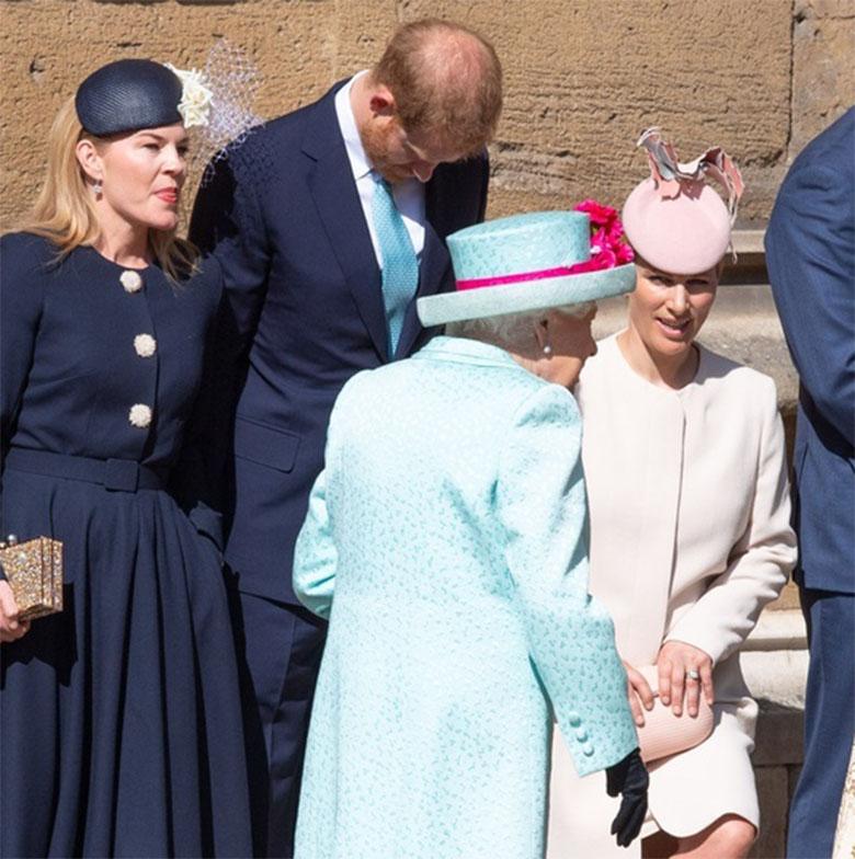 Księżna Kate i rodzina królewska na mszy z okazji 93 urodzin królowej Elżbiety II