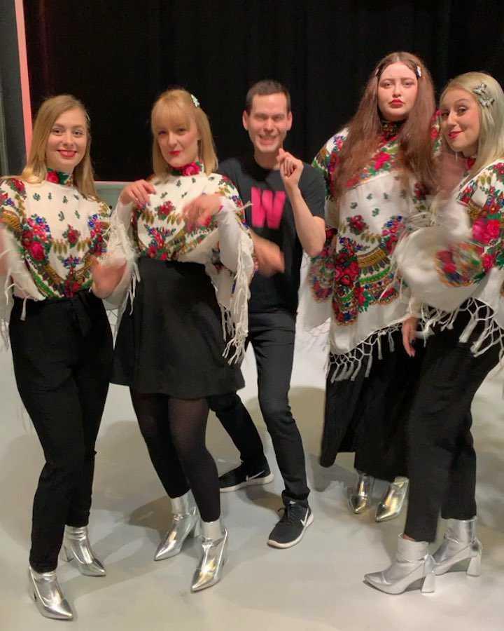 Tulia promuje Pali się w Amsterdamie przed Eurowizją 2019