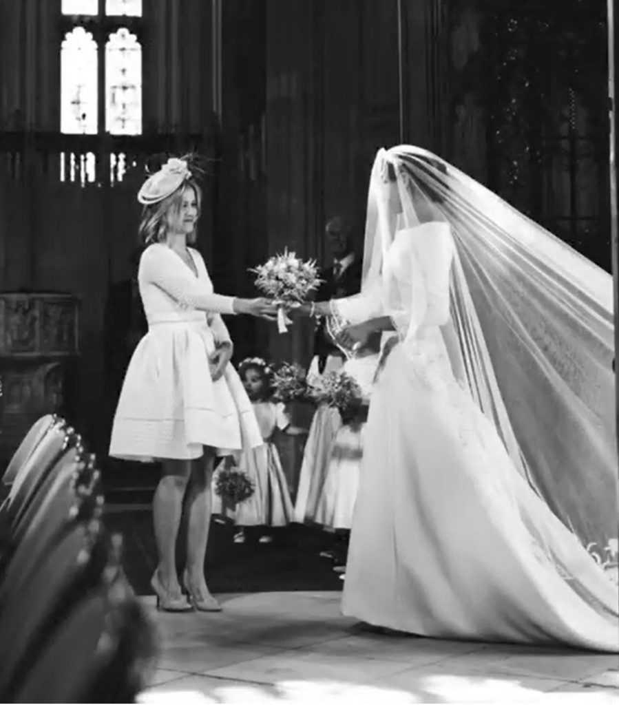 Meghan Markle w dniu ślubu
