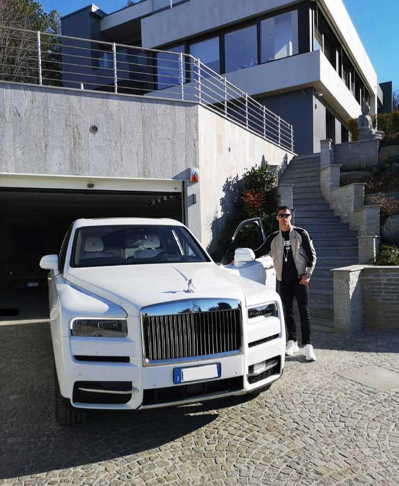 Cristiano Ronaldo - Rolls-Royce Ghost