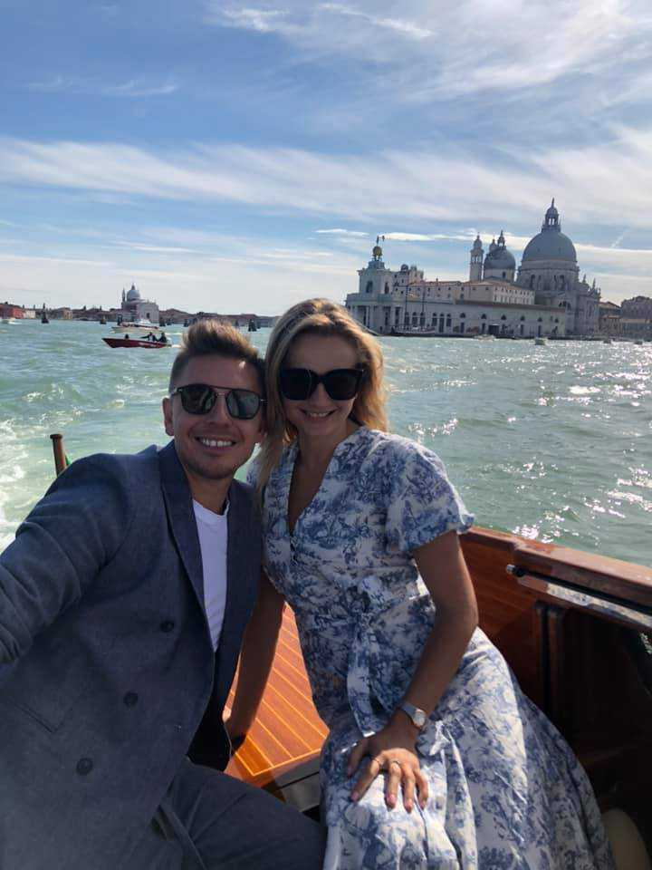 Łukasz Jemioł i Małgorzata Socha w Wenecji