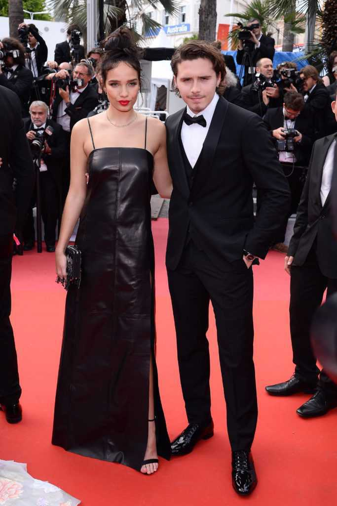 Hana Cross, Brooklyn Beckham - premiera Once upon a time in Hollywood, Cannes 2019