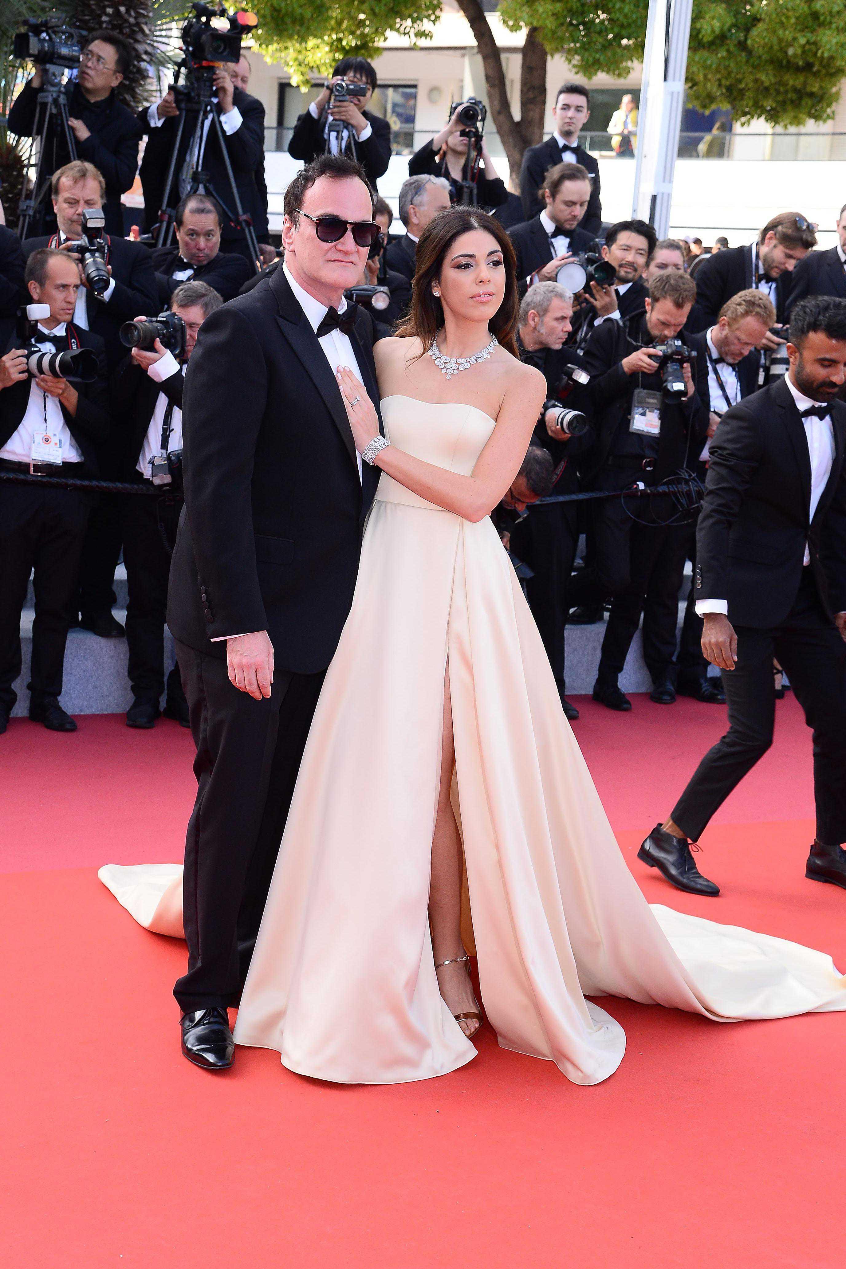 Quentin Tarantino z żoną, Danielą Pick - ceremonia zamknięcia, Cannes 2019