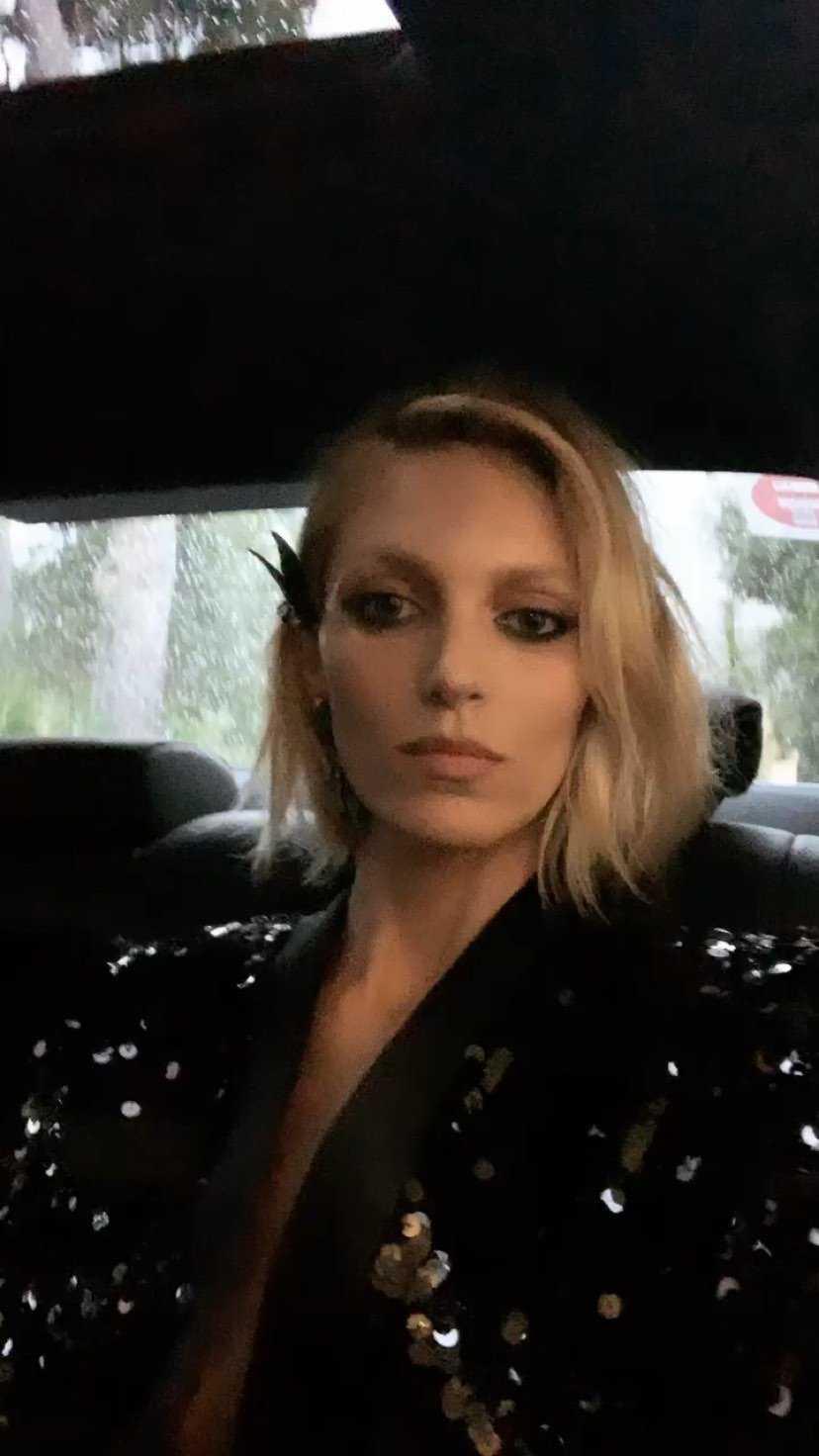 Anja Rubik W Drodze Na Przyjęcie Cannes 2019 Jastrząb Post