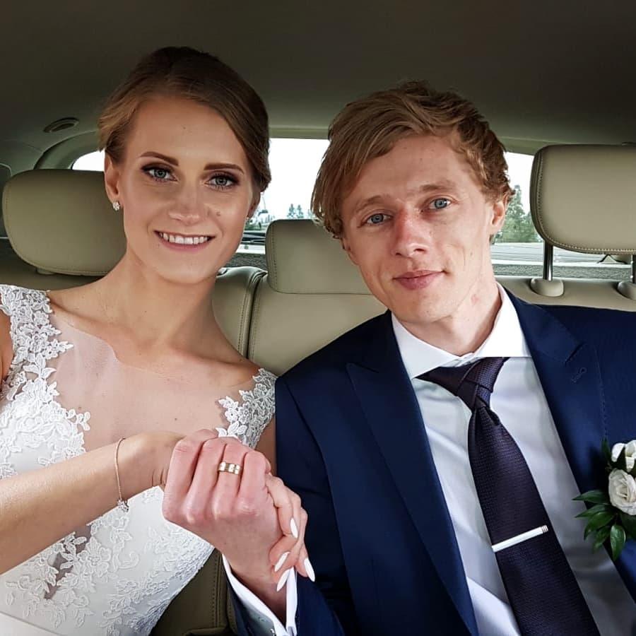 Dawid Kubacki i Marta Majcher - zdjęcie ślubne