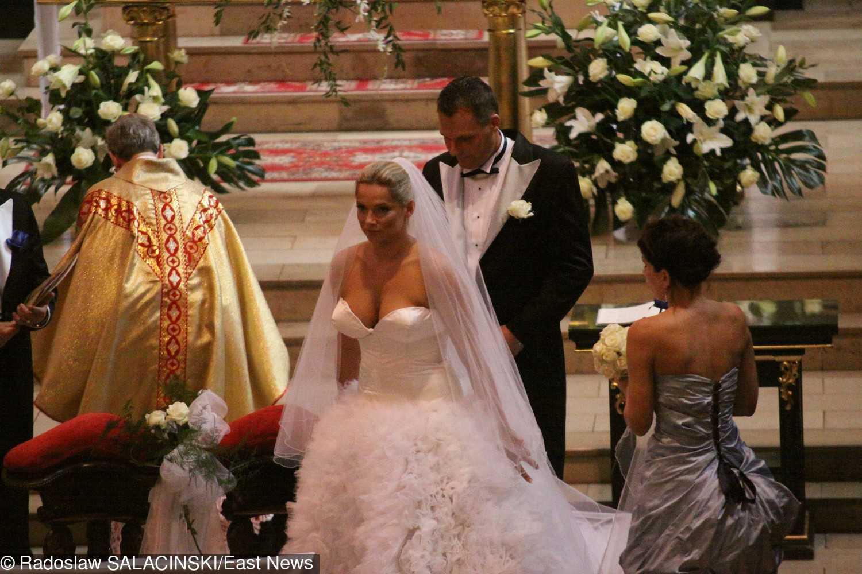 Joanna Liszowska i Ola Serneke na ślubie