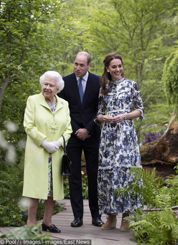 Księżna Kate i książę William oprowadzili królową Elżbietę II po ogrodach