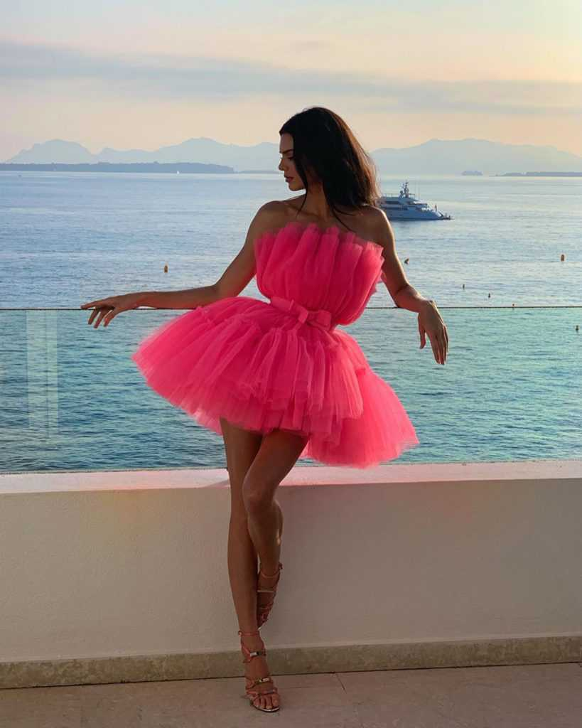 Kendall Jenner w Cannes 2019