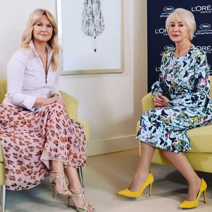 Grażyna Torbicka i Helen Mirren - Cannes 2019