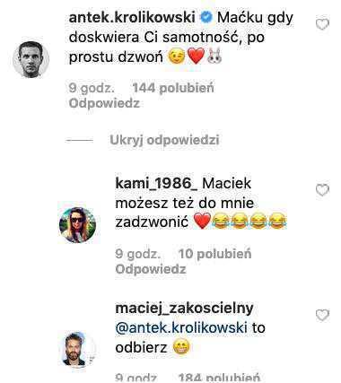 Antek Królikowski nie odbiera telefonów od Macieja Zakościelnego