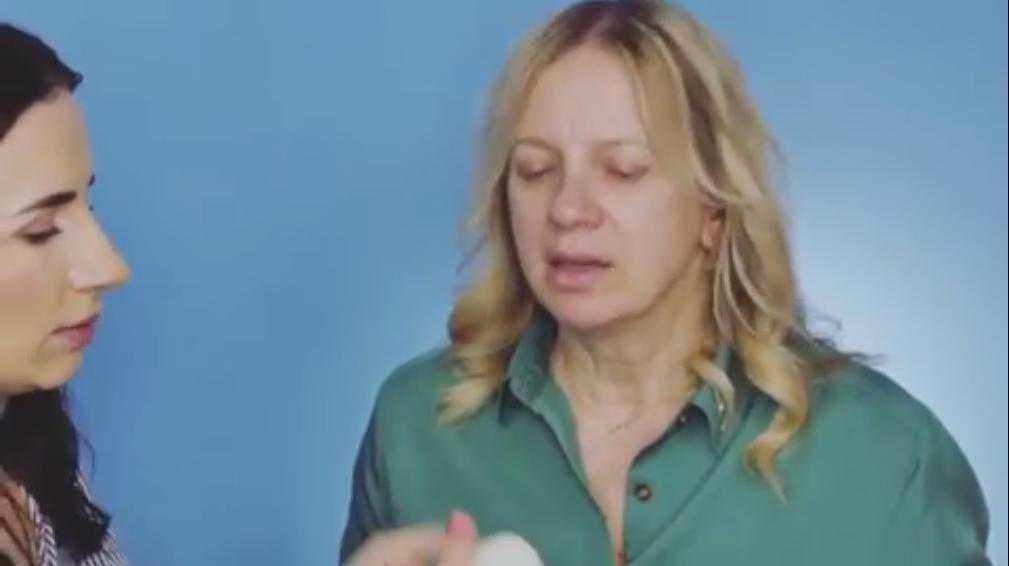 Marzena Rogalska bez makijażu