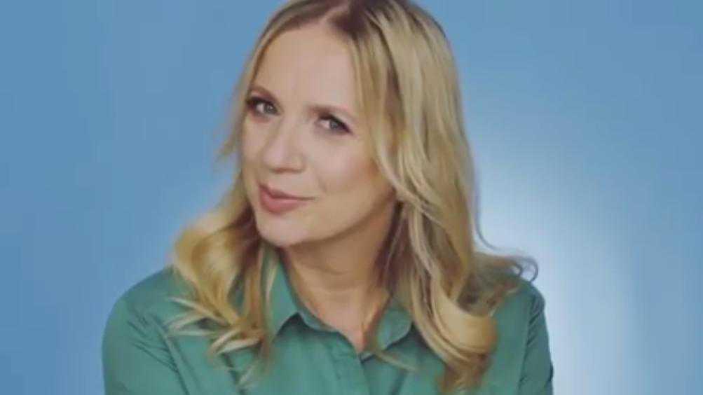 Marzena Rogalska w pełnym makijażu