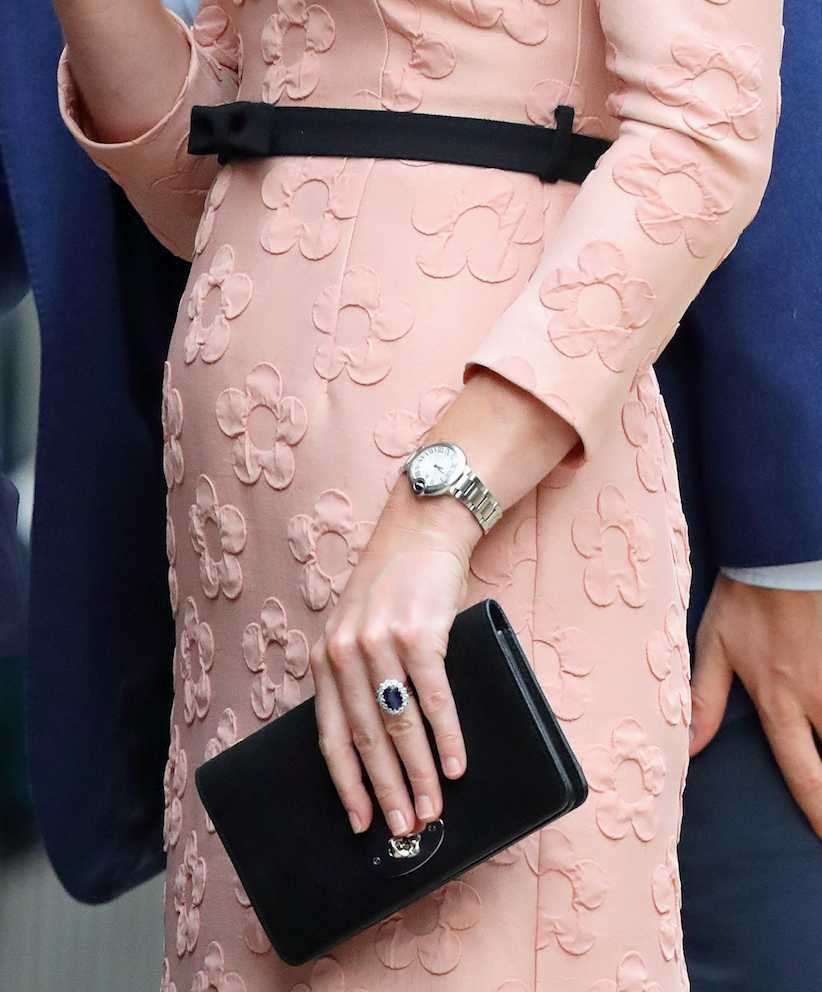 Bezbarwny manicure księżnej Kate