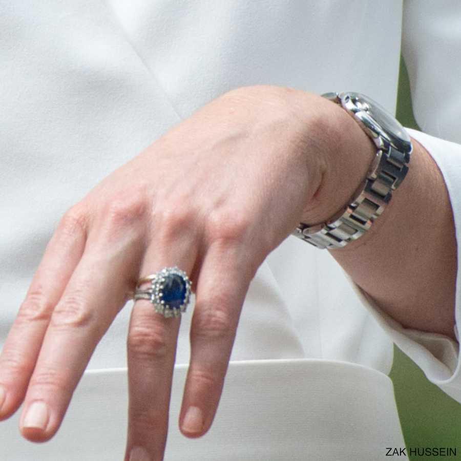 Dłoń księżnej Kate
