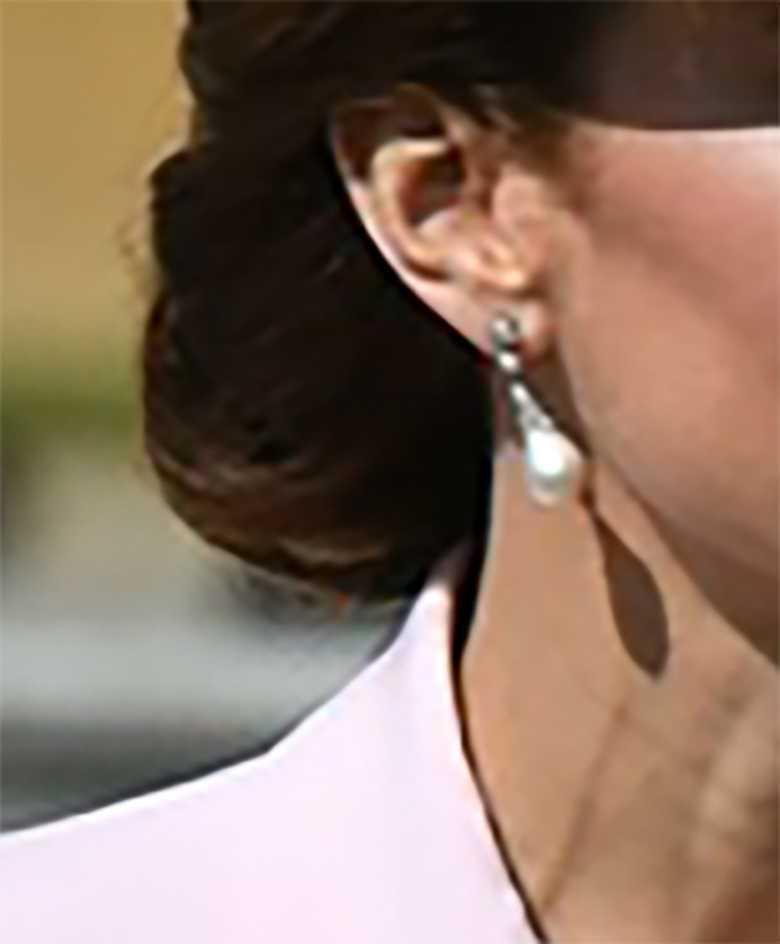 Księżna Kate - kolczyki, pamiątka po księżnej Dianie