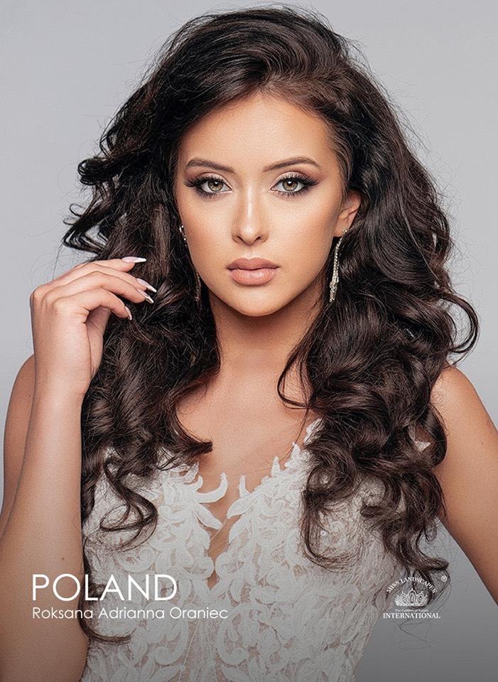 Roksana Oraniec leci do Chin na konkurs piękności Miss Landscapes International 2019.
