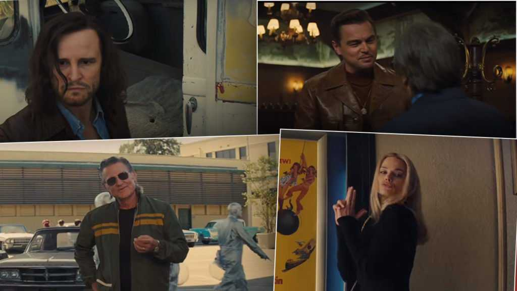 Once upon a time in Hollywood,