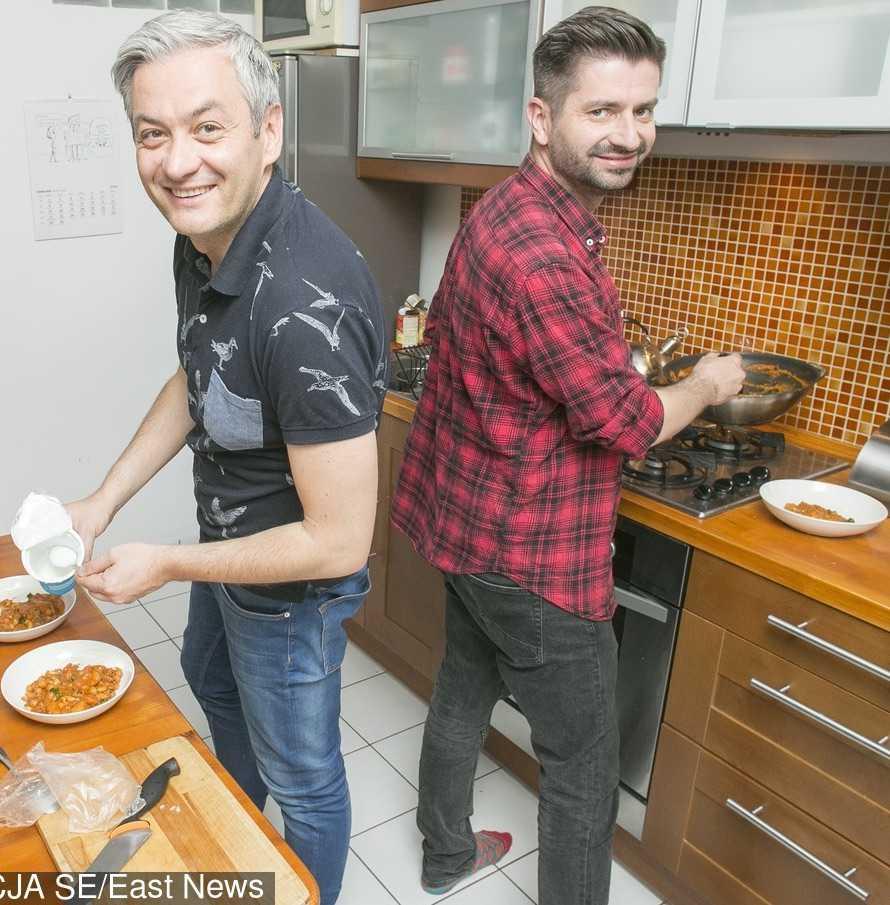 Kuchnia w mieszkaniu Roberta Biedronia i Krzysztofa Śmiszka