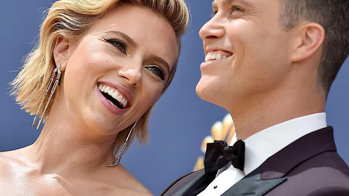 Scarlett Johansson i Colin Jost zaręczyli się