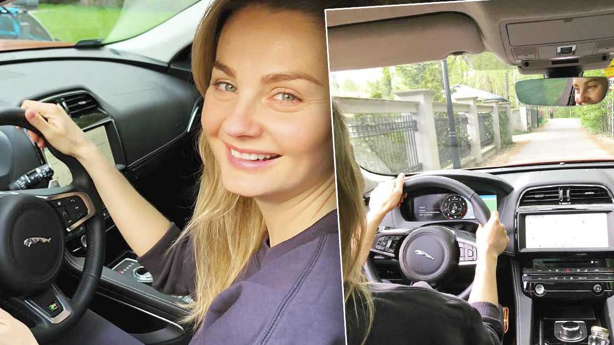 Małgorzata Socha samochód