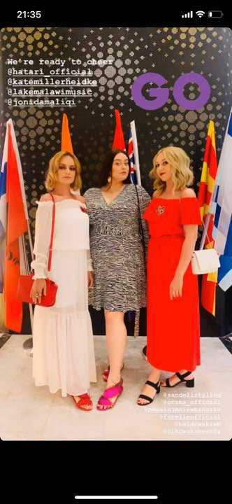 Tulia na finale Eurowizji