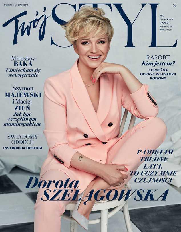 Dorota Szelągowska na okładce magazynu