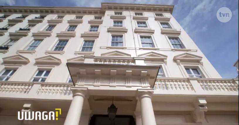 Joanna Przetakiewicz apartament w Londynie - screen TVN
