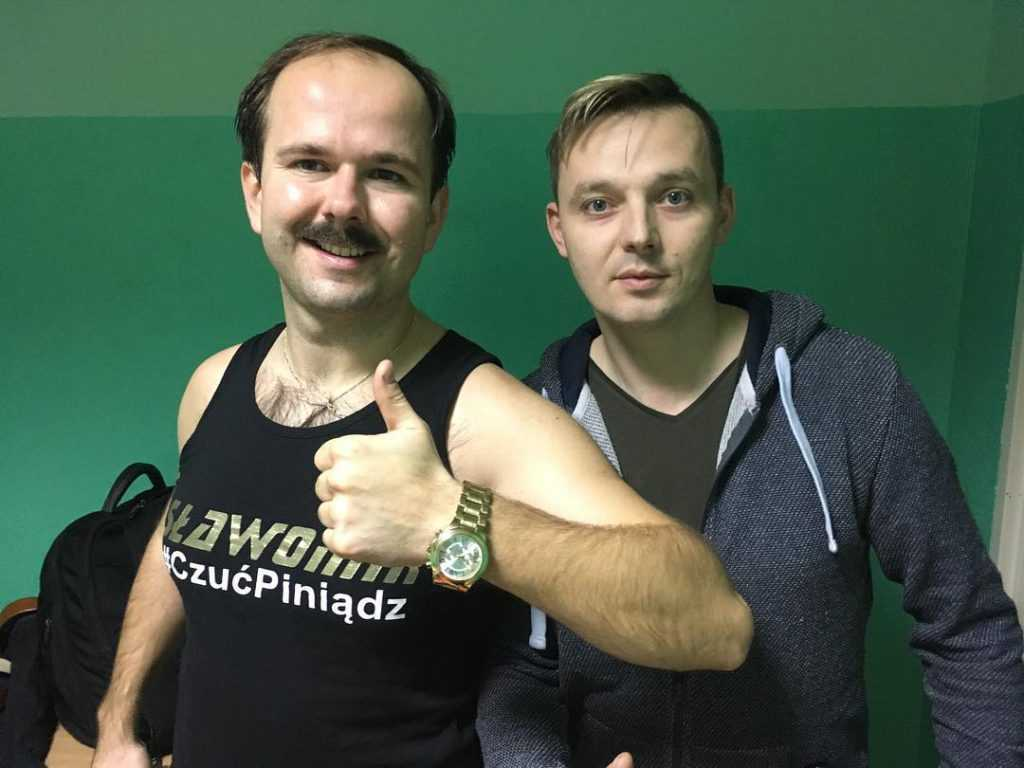Mr Sebii i Sławomir Zapała disco polo