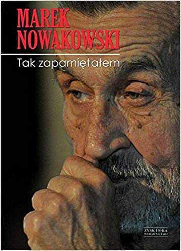 Marek Nowakowski książka
