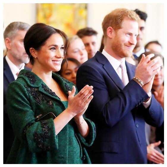 Megan Markle i Książę Harry - Instagram