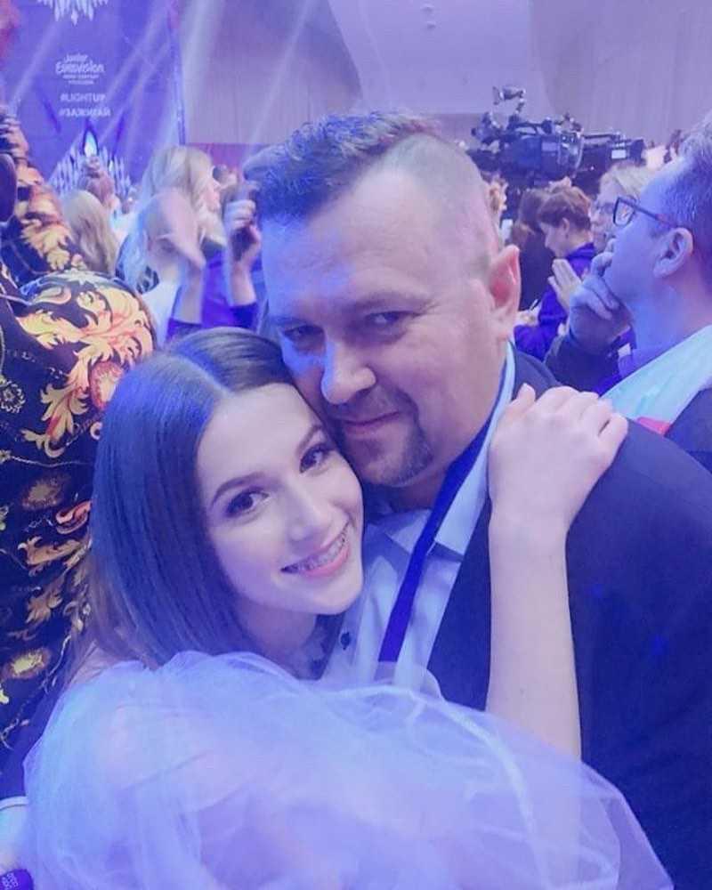Roksana Węgiel pokazała swojego ojca