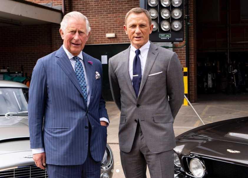 Książę Karol i Daniel Craig - Instagram