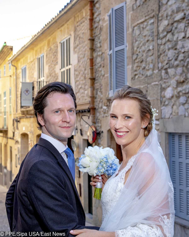 Książę Joachim z Prus i hrabina Angelina z Solms-Laubach – zdjęcia ze ślubu na Majorce