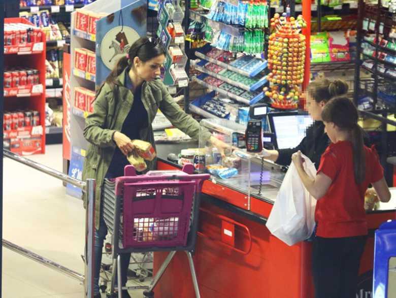Marta Kaczyńska w Sopocie na zakupach