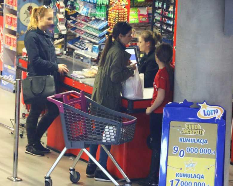 Marta Kaczyńska na zakupach