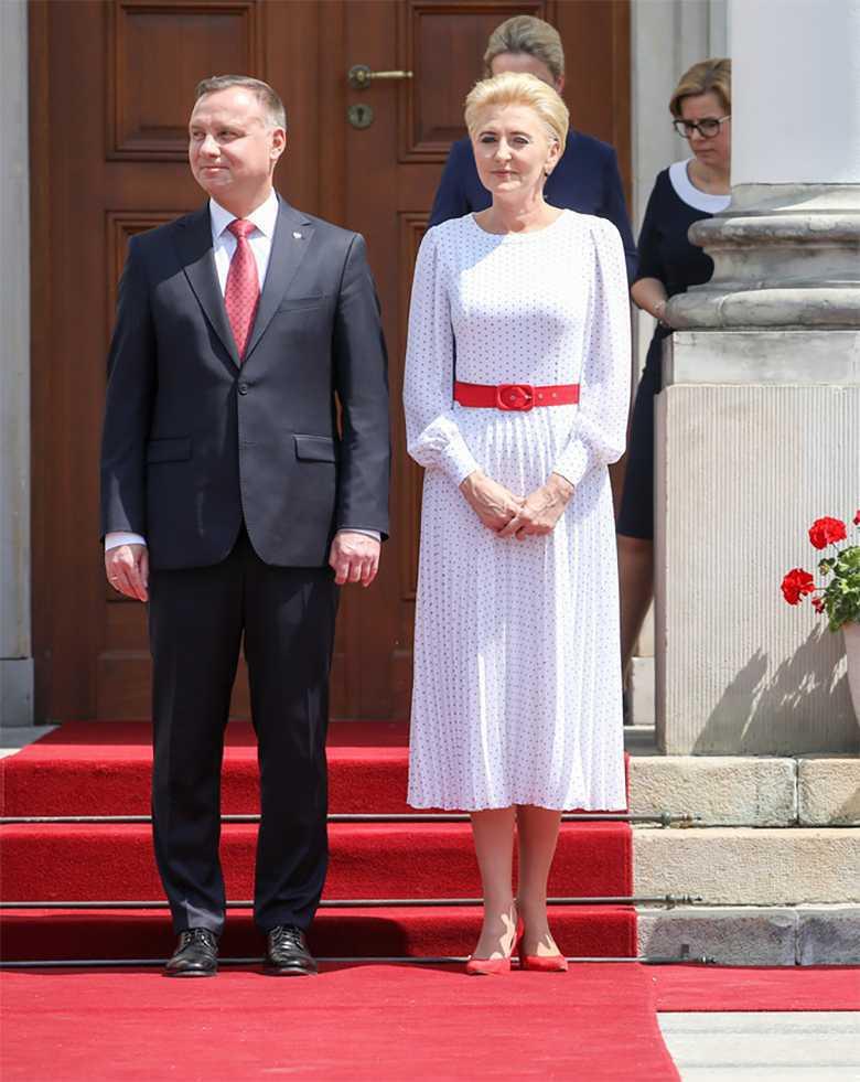 Andrzej Duda i Agata Duda - AgroLiga 2018
