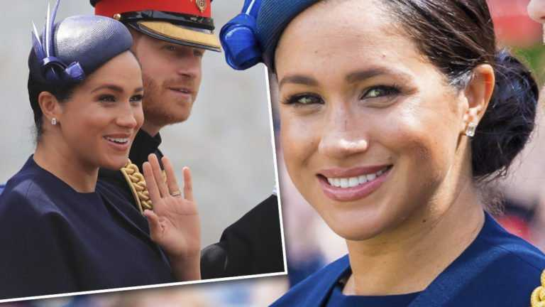 Meghan Markle na Trooping the Colour 2019