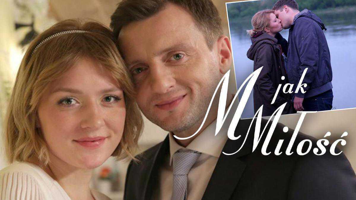 M jak miłość - Ula (Iga Krefft) zdradzi Bartka (Arkadiusz Smoleński) z Jankiem (Tomas Kollarik)